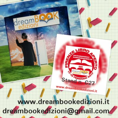 dreamBOOK alla prima edizione della fiera del libro di Firenze