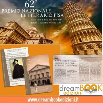 62° Premio Nazionale Letterario Pisa