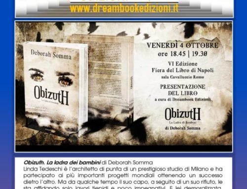 """Presentazione """"Obizuth – La Ladra di Bambini"""" il 4 ottobre"""