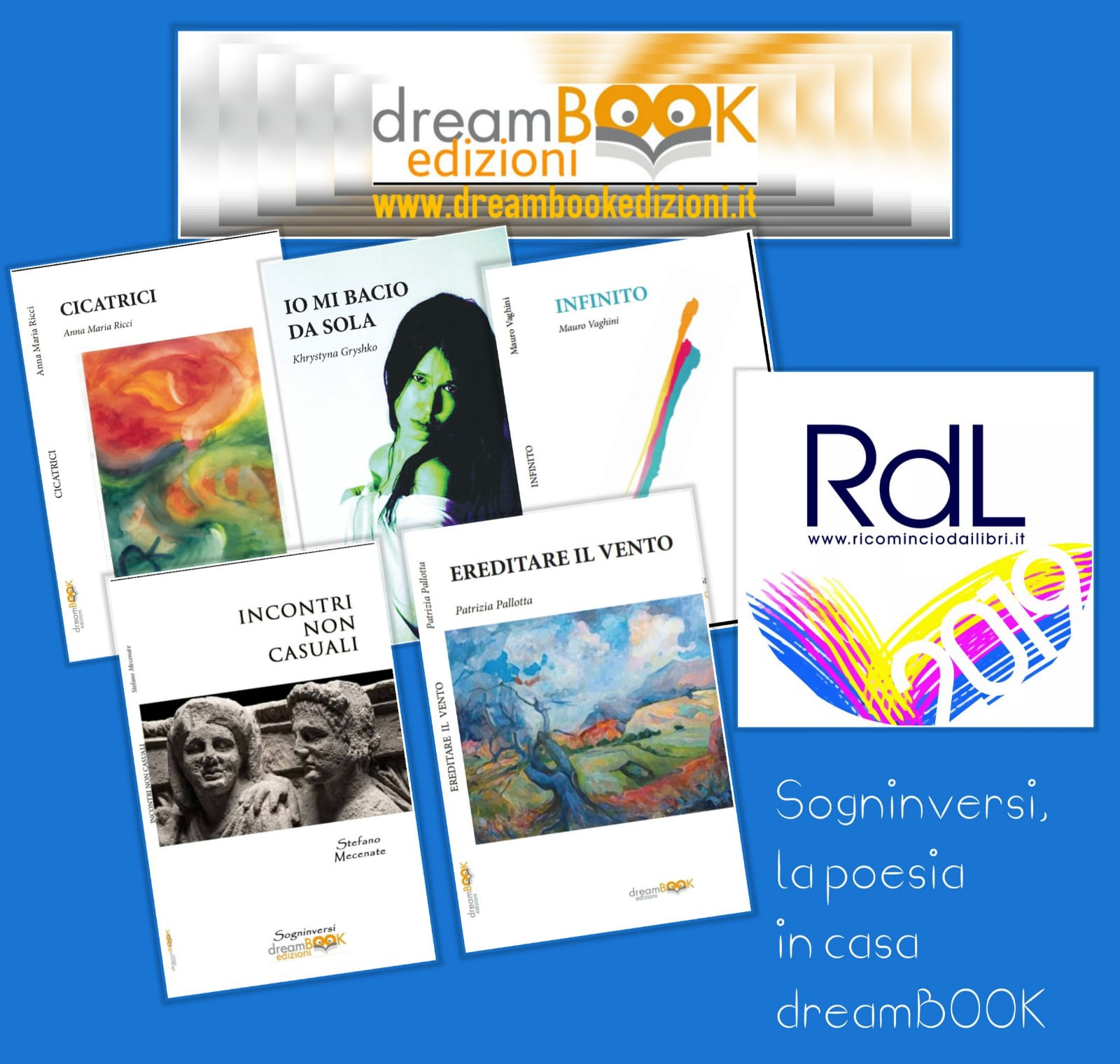 """Dreambook poesia a """"Ricomincio dai libri"""""""