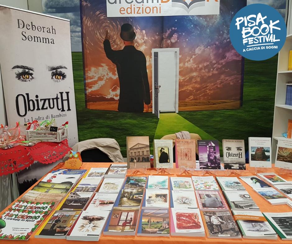 dreamBOOK al Pisa Book Festival