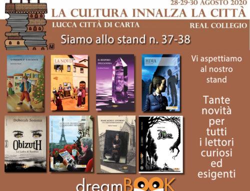 dreamBOOK sarà presente a Lucca Città di Carta