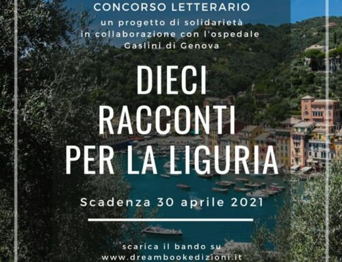 """Concorso letterario """"Dieci racconti per la Liguria"""""""