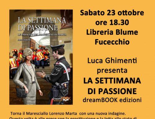 """Presentazione de """"La settimana di passione"""" di Luca Ghimenti"""